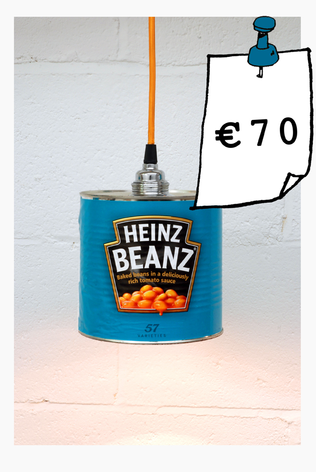 Heinz beanz can light 70 euro