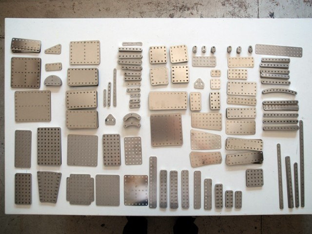 all the meccano parts