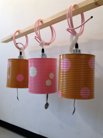 Custom can light for Pink Vanilla Desserts