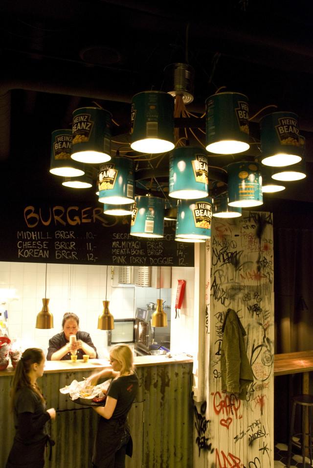 Heinz Beanz chandelier