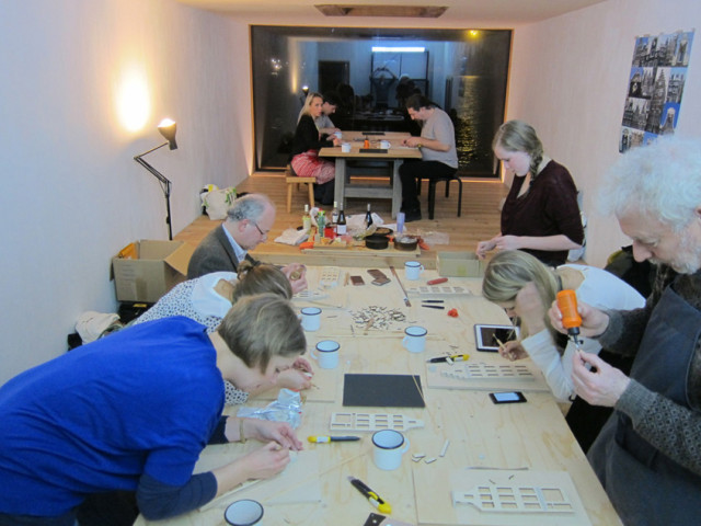 workshop at kulttuurisauna